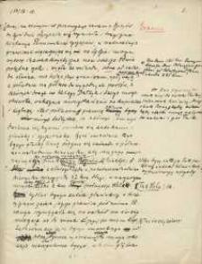 Notatki, wypisy z dokumentów dotyczących granic i historii Kaszubów.
