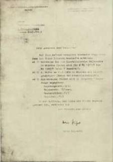 Poświadczenie z archiwum Uniwersytetu z Monachium dotyczące okresu studiów Aleksandra Majkowskiego