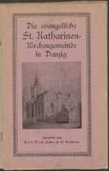 Die evangelische St. Katherinen : Kirchengemeinde in Danzig