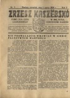 Zrzesz Kaszëbskô. Pismo dla ludu kaszubskiego. W imię Boga odrodzenie Kaszub!, nr.3, 1934