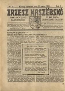 Zrzesz Kaszëbskô. Pismo dla ludu kaszubskiego. W imię Boga odrodzenie Kaszub!, nr.4, 1934