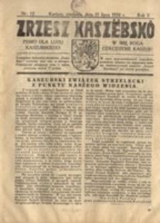 Zrzesz Kaszëbskô. Pismo dla ludu kaszubskiego. W imię Boga odrodzenie Kaszub!, nr.12, 1934
