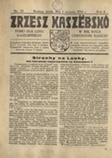 Zrzesz Kaszëbskô. Pismo dla ludu kaszubskiego. W imię Boga odrodzenie Kaszub!, nr.13, 1934