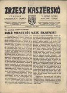 Zrzesz Kaszëbskô. Cządnjik Kaszebskjich. V Mjono Boskji Norodni Vzenjik, nr.5, 1938