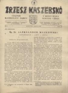 Zrzesz Kaszëbskô. Cządnjik Kaszebskjich. V Mjono Boskji Norodni Vzenjik, nr.4, 1938