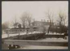 [Danzig 20. 9. 1921 Grundstück Jungstädtischer Holzraum mit Brücke über den alten Heckergraben]