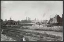 [Danzig 16. 10. 1921 Ansicht des Hafenbildes von Danzig bei der Einfahrt an der (Mottlauer Wachfähre) Fähre an der Wallgasse]