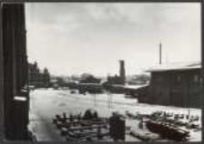 [7. 2. 09 Danzig Keiserlich Werft mit Blick nach dem Hauptgebäude von S. V. aus]