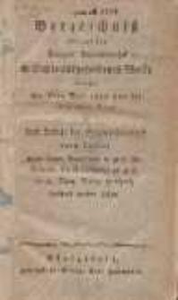 Verzeichniss der auf der Danziger Stadtbibliothek in Duplo aufgefunden Werke : welche den 6ten Mai 1822 und die folgenden Tage in dem Lokale der Stadtbibliothek : durch Ausruf [...] verkauft werden sollen