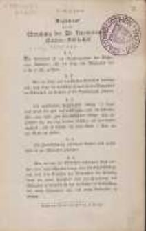 Reglement für die Benutzung der St. Bartholomäi-Kirchen-Bibliothek