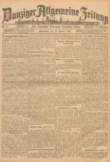 Danziger Allgemeine Zeitung, 1922.10.06 nr 235