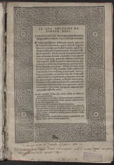 In Hoc Volvmine Habentvr Haec : Cornvcopie, Siue linguę latinę co[m]mentarii diligentissime recogniti, atq[ue] ex archetypo emendati