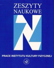Postawy wobec kultury fizycznej studentów Uniwersytetu Szczecińskiego