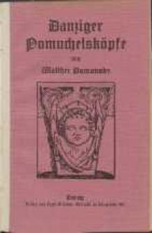 Danziger Pomuchelsköpfe : Sieben Aufsätze