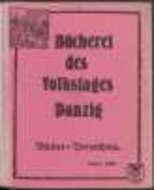 Bücherei des Volkstages Danzig : Bücher-Verzeichnis : 1. März 1925