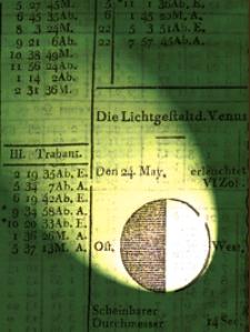 Astronomisches Jahrbuch für das Jahr 1812 : nebst einer Sammlung der neuesten in die astronomischen Wissenschaften einschlagenden Abhandlungen, Beobachtungen und Nachrichten