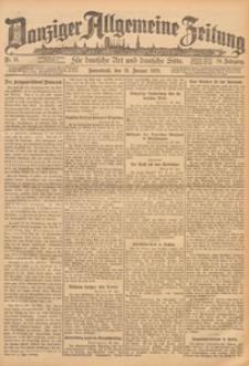 Danziger Allgemeine Zeitung, 1928.01.19 nr 16