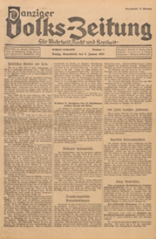 Danziger Volks - Zeitung für Wahrheit, Recht, und Freiheit, 1936.07.20 nr 51