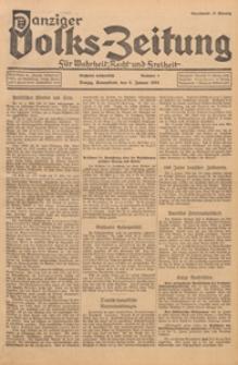 Danziger Volks - Zeitung für Wahrheit, Recht, und Freiheit, 1937.03.01 nr 20