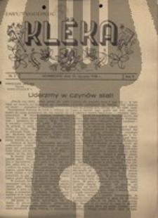 Klëka.Dwutygodnik, nr.2, 1938