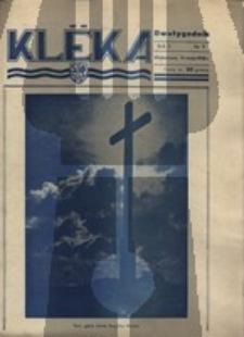 Klëka.Dwutygodnik, nr. 9, 1938