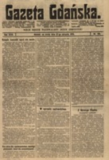 Gazeta Gdańska, 1919.08.27 nr 186
