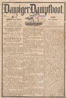 Danziger Dampfboot..., 1861.01.19 nr 16