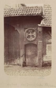 Eingang zum Hofe des Müllergewerks-Hauses 1684