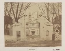 [Pałac Mniszchów, ok. 1870 r.]