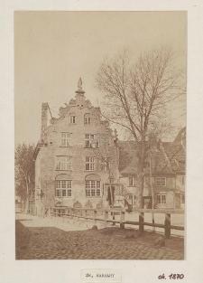 Prediger Haus zu St. Barbara Langgarten, Abgebrochen 1880 ca