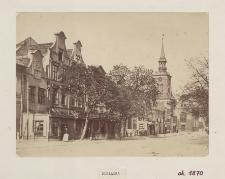 [Ulica Długie Ogrody, widok ogólny, ok. 1870 r.]