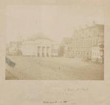 Kohlenmarkt um 1860