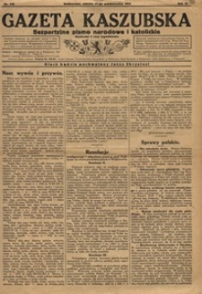 Gazeta Kaszubska 1924, nr122 (11 pażdziernika)