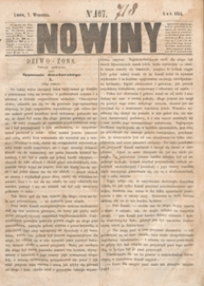 Nowiny, 1854.09.09 nr 108