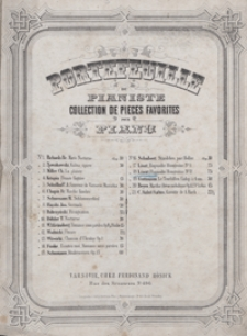 Rapsodie Hongroise No 2 : Fis-dur: pour piiano