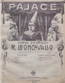 Pajace : prolog z opery : [na baryton z tow. fortepianu] / [sł. R.Leoncavallo ; przekł. pol. Kazimierz Barnaś]