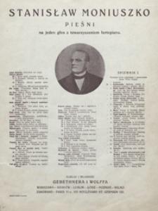 Dwie zorze : [pieśń] d-moll : [na tenor z towarzyszeniem fortepianu] / słowa Teofila Lenartowicza