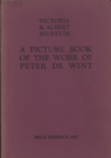 A picture book of the work of Peter De Wint