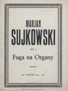 Fuga : G-dur : op.3 : na organy