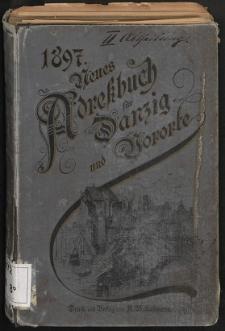 Neues Adreßbuch für Danzig und seine Vororte 1897