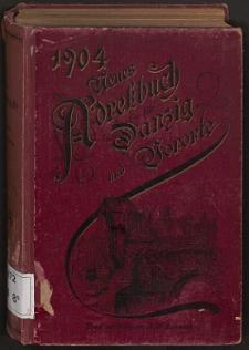 Neues Adreßbuch für Danzig und seine Vororte 1904