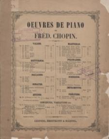 Marche funebre tire de la Sonate [B-moll] oeuvr. 35 : pour le piano / de Frederic Chopin