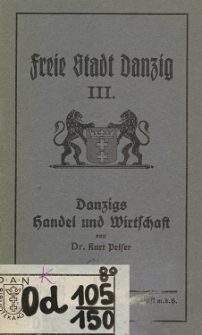 Freie Stadt Danzig H. 3