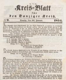 Kreis-Blatt für den Danziger Kreis, 1854.11.11 nr 45