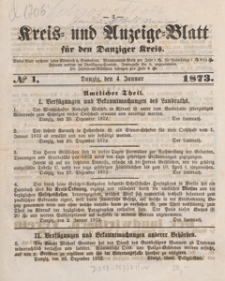 Kreis- und Anzeige-Blatt für Danziger Kreis, 1873.04.19 nr 31