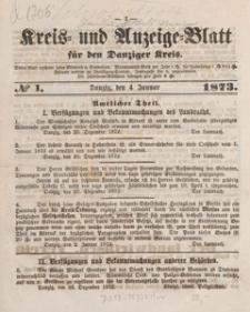 Kreis- und Anzeige-Blatt für Danziger Kreis, 1874.01.21 nr 6
