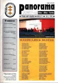 Panorama AWF Gdańsk : citius, altius, fortius, 1995, Nr 8