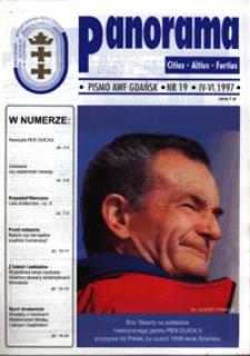 Panorama AWF Gdańsk : citius, altius, fortius, 1997, Nr 19