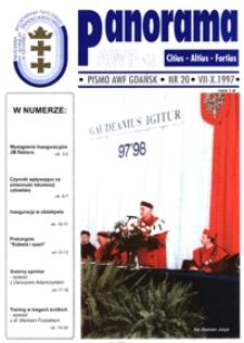 Panorama AWF Gdańsk : citius, altius, fortius, 1997, Nr 20