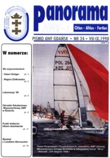 Panorama AWF Gdańsk : citius, altius, fortius, 1998, Nr 24